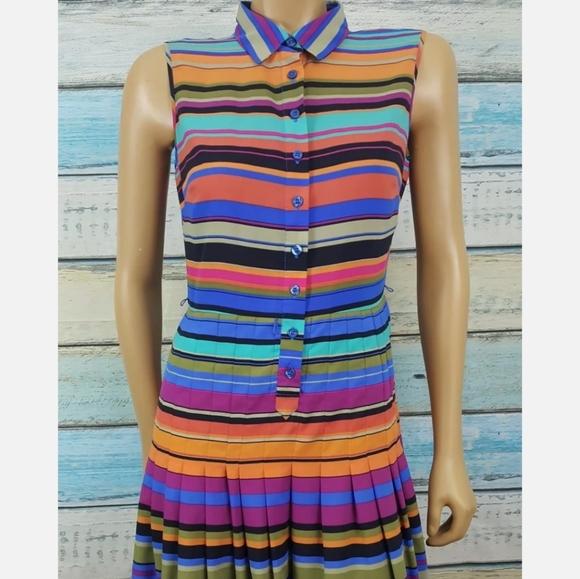 Calvin Klein Small Multicolor Ankle Length Dress